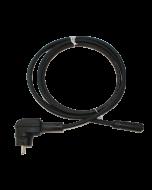 3 m Kabel mit Schuko-/ Batteri IP68 Verbindungsstecker