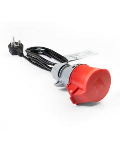 NRGkick Adapter mit Erkennungsfunktion – CEE 16A auf Typ G (UK)